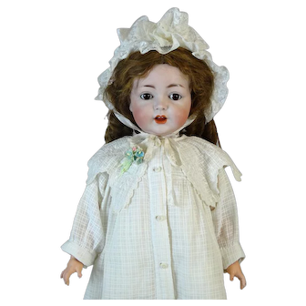 Rare Antique German Doll SAH