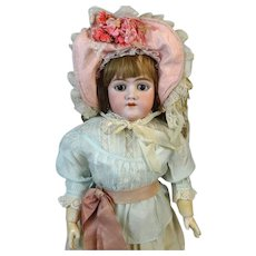 Heinrich Handwerck HH 109  Antique Bisque Head Doll