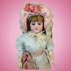 Heinrich Handwerck HH 109  Antique Bisque Head Doll