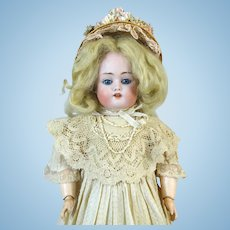 Antique German Bisque Head Doll Johann Daniel Kestner 168
