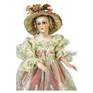 Antique German Half Doll