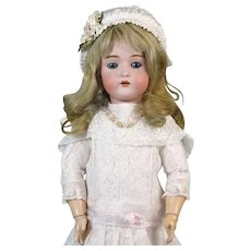 Bruno Schmidt Antique German Bisque Head Doll