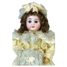 Antique French Bisque Head Doll Fleischmann & Blodel