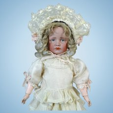 Kammer & Reinhardt 114 Gretchen Antique German Bisque Head Doll