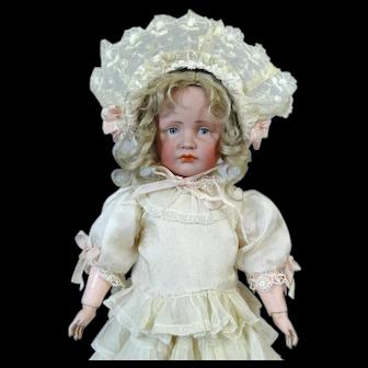 Kammer & Reinhardt 114 Gretchen Antique German Bisque Head Doll