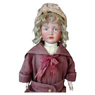Antique German Bisque Head Doll Kammer & Reinhardt K&R 114