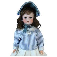 Antique German Bisque Head Doll Kammer Reinhardt Simon Halbig K&R S&H