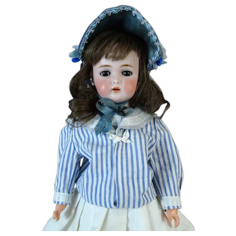 Antique German Bisque Head Doll Kammer Reinhardt Simon Halbig K&R S&H