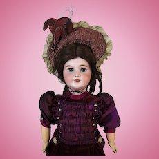 Antique French Bisque Head Doll DEP 10