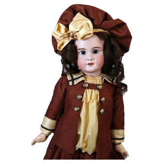 Simon & Halbig DEP 11 Jumeau Antique French Bisque Head Doll