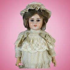 Rare Antique French Papier-Mache Head Doll Fleischmann & Blodel
