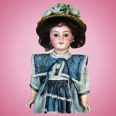 Antique French Bisque Head Doll DEP 9