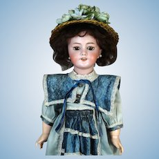 Antique French Bisque Head Doll DEP 9
