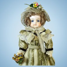 Early Antique German Papier Mache Doll