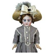 Antique French Bisque Head Doll Jumeau DEP 6
