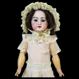 Antique French Bisque Head Doll DEP 7
