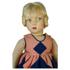 1930s Lenci Felt Doll