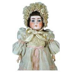 Antique German Bisque Head Doll Ernst Heubach 1900 DEP