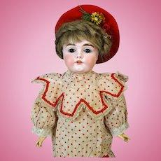 Antique German Bisque Head Doll Johann Daniel Kestner JDK 164