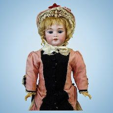Antique German Bisque Head Doll Simon & Halbig S&H 1079 DEP