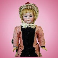 Antique German Bisque Head Doll Simon & Halbig S&H 1079 DEP