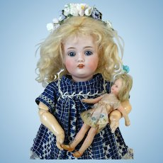 Antique German Bisque Head Doll Johann Daniel Kestner JDK 174
