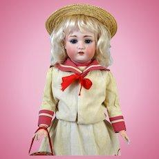 Schonau & Hoffmeister 168 Antique German Bisque Head Doll