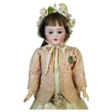 Franz Schmidt Antique German Bisque Head Doll