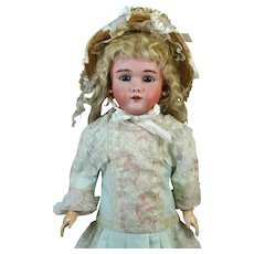 Heinrich Handwerck HH 119 Antique German Bisque Head Doll