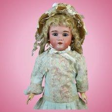 Heinrich Handwerck HH 119 Antique German Bisque Head Doll