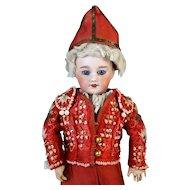 Rare Antique French Bisque Head Doll Bleuette SFBJ 301