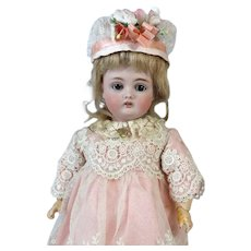 Johann Daniel Kestner JDK 174 Antique German Bisque Head Doll