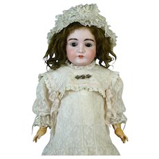 Johann Daniel Kestner JDK 164 Antique German Bisque Head Doll