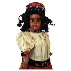 Black Bahr & Proschild 247 Antique German Bisque Head Doll