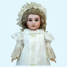 Jumeau 1907 Antique French Bisque Head Doll