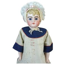 Schutzmeister & Qwendt 81 Very Rare Antique German Bisque Head Doll
