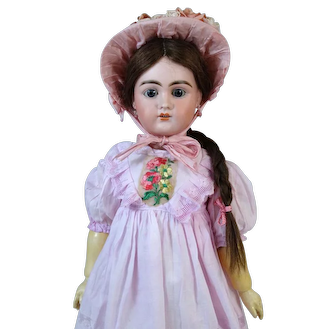 Bahr & Proschild B&P 275 DEP Antique German Bisque Head Doll