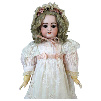 Simon & Halbig 1079 DEP Antique German Bisque Head Doll