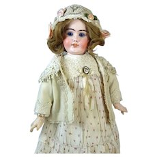 DEP France Antique French Bisque Head Doll