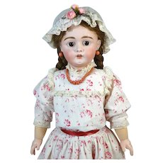 Bahr & Proschild Antique German Bisque Head Doll