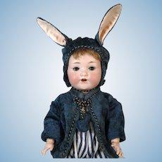 Armand Marseille AM 975 Antique German Bisque Head Doll