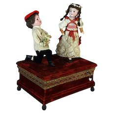 Antique German handwind Automaton by Zinner & Sohne