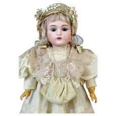 JDK 167 Johann Daniel Kestner Antique German Bisque Head Doll