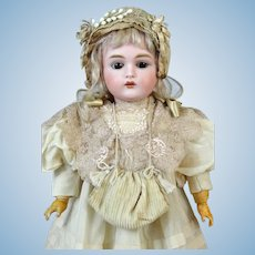 JDK 167 Johann Daniel Kestner Antique German Bisque Head Doll