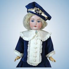 Johann Daniel Kestner JDK 171 Antique German Bisque Head Doll
