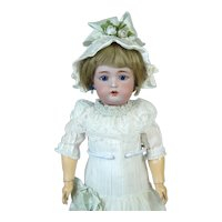 Rare Simon & Halbig 1299 Antique German Bisque Head Doll