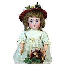 Simon Halbig SH 1299 Rare Antique German Bisque Head Doll