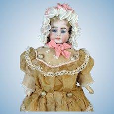 Rare Antique German Three Faced Carl Bergner Bisque Head Doll