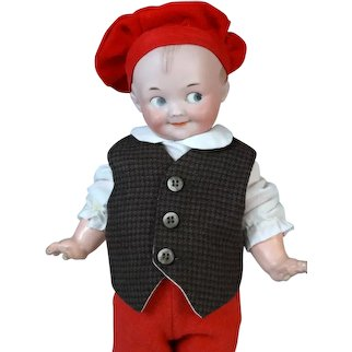 Armand Marseille  AM Googly 324 Antique German Bisque Head Doll