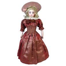 Antique French Automaton Walking Lady Fashion Doll
